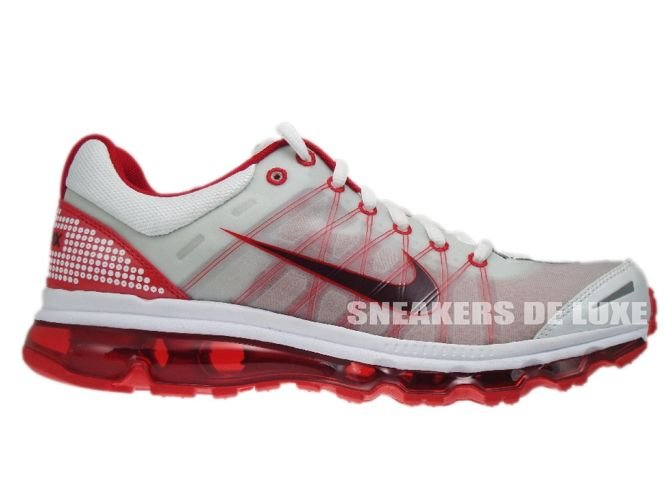 6de9642b489869 ... Running Shoes 486978-166 Nike Air Max 2009+ White Red Mahogany-Sport Red  .