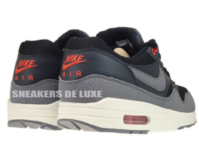 537383 008 Nike Air Max 1 Essential Black/Cool Grey Anthracite Team