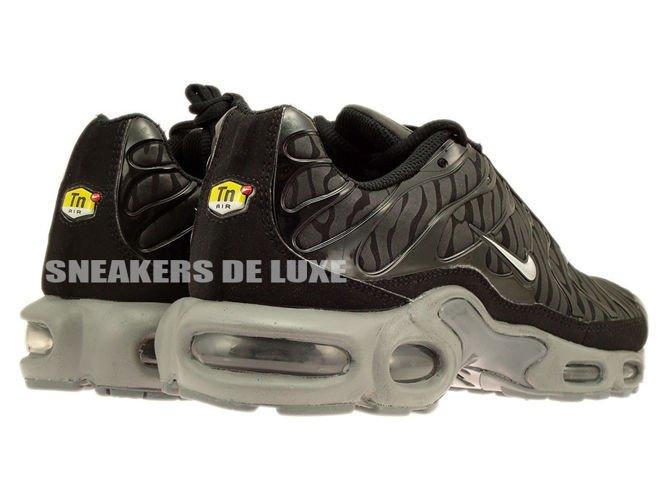 ... 604133-087 Nike Air Max Plus TN 1 Black / Metallic Silver-Black ...