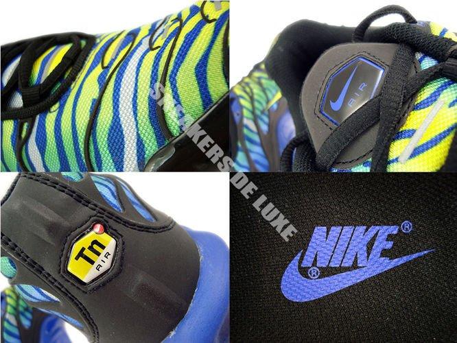Nike Air Max TN Black Volt Blue