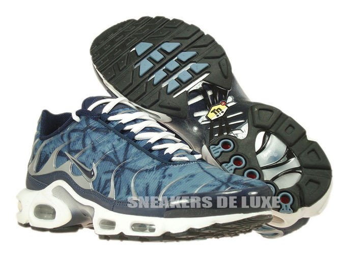 5a809b1953 604133-449 Nike Air Max Plus TN 1 Blue ShadowMidnight Navy- ...