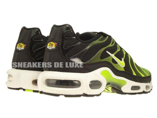 647315-071 Nike Air Max Plus TN 1 Black-WhiteVolt Green ...