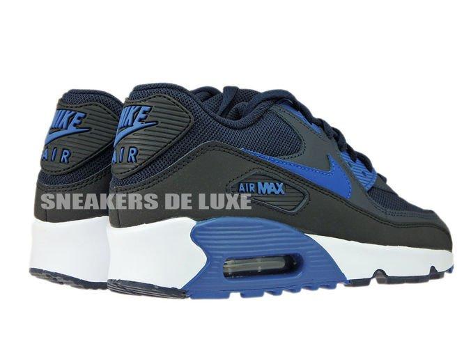 official photos 4bfa9 b4305 833418-402 Nike Air Max 90 Dark ObsidianCourt Blue-Black- ...