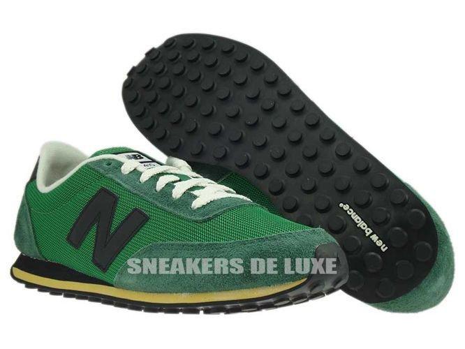 green new balance 410 black