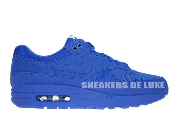 Nike Air Max 1 Premium 875844-400 Game Royal/Game Royal 875844-400 ...