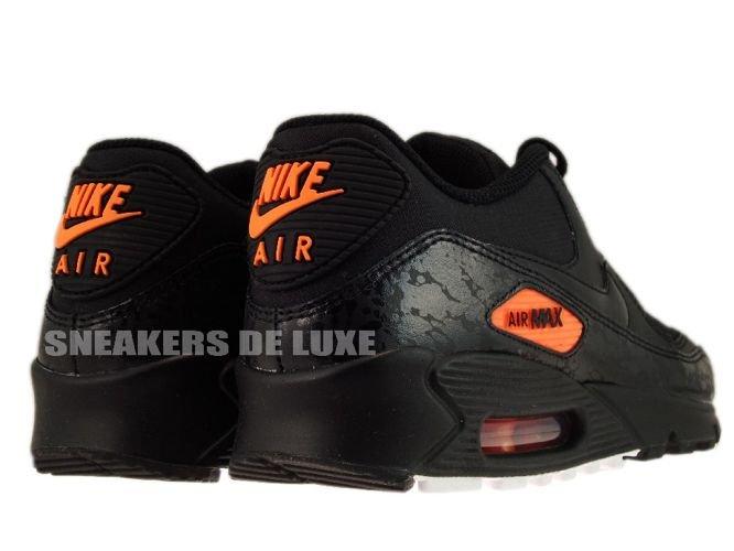 nike air max 2012 - anthracite/black-total orange