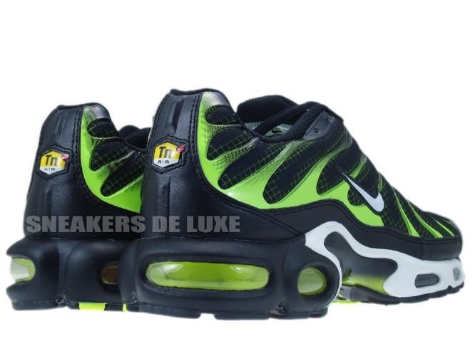 Nike Air Max Plus TN 1 Black/White-Volt .