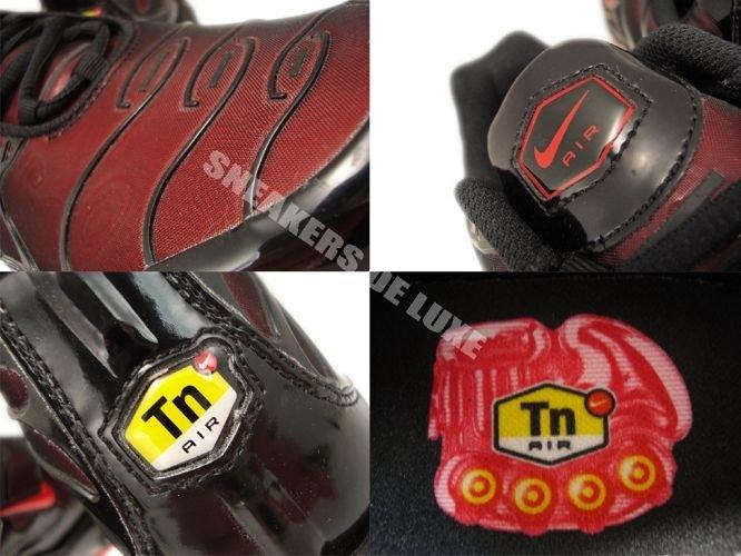 Nike Air Max TN Black Sport Red