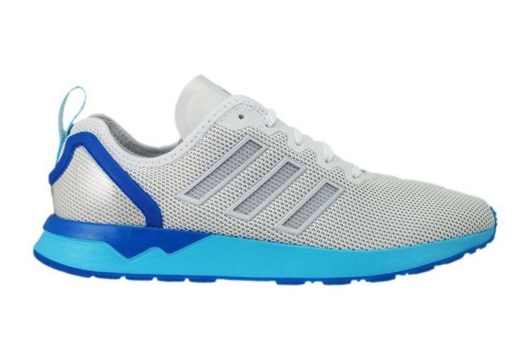 s79014 adidas zx flusso avanzata vintage bianco / bagliore blu s79014 adidas