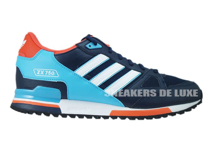 low priced 14954 84810 ... canada s79194 adidas zx 750 collegiate navy footwear white bright cyan  a585e 62a0c