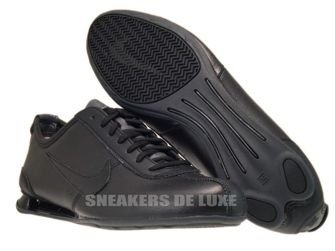 316317-091 Nike Shox Rivalry Black/Black-Dark Grey