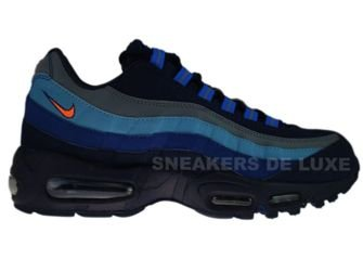 329393-400 Nike Air Max 95 SI Obsidian/Total Orange-Meteor Blue-Navy