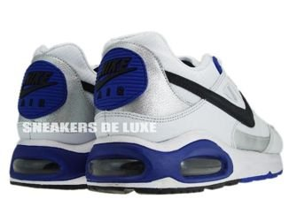 343886-130 Nike Air Max Skyline White/Black Metallic Silver Concord
