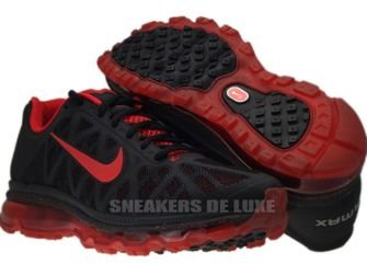 429889-060 Nike Air Max 2011+ Black/Sport Red