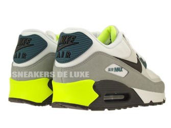 537384-105 Nike Air Max 90 Essential White/ Black Prune-Light Base Grey-Base Grey