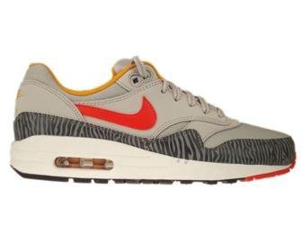 555766-008 Nike Air Max 1 Pearl Grey Tiger
