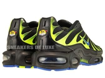 604133-083 Nike Air Max Plus TN 1 Black/Blue Spark-Volt-Anthracite