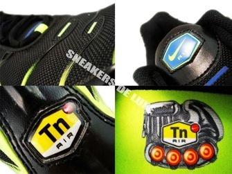 604133-083 Nike Air Max Plus TN 1 Black/Blue Spark-Volt-Anthracite