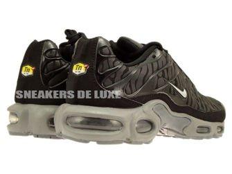 604133-087 Nike Air Max Plus TN 1 Black / Metallic Silver-Black