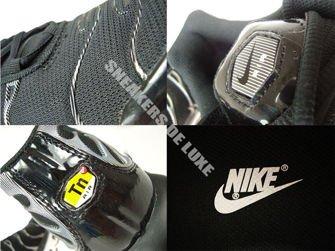 605112-039 Nike Air Max Plus TN 1 Black/Black-White