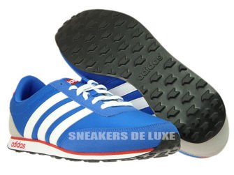 low priced 0732a da9bf AW5051 adidas neo V Racer Blue Footwear WhitePower Red .