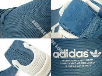 B34493 adidas ZX Flux St Stonewash Blue / Ftwr White / Ftwr White