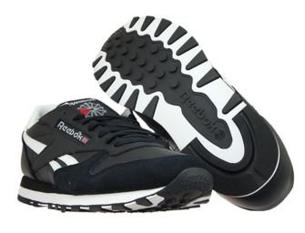 BS6515 Reebok Classic Leather TRC Black/White/Lgh Sld Grey/Excellent Red