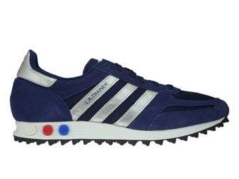 CQ2278 adidas LA Trainer Dark Blue/Matallic Silver/Dark Grey