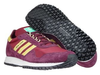 CQ2486 adidas New York Maroon/Collegiate Burgundy/Matte Gold