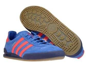 CQ2766 adidas Jeans Trace Royal/Hi-Res Red/Noble Ink