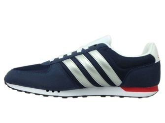 F99330 adidas NEO City Racer Collegiate Navy/Matte Silver/Power Red