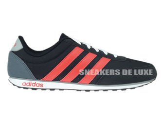 F99392 adidas neo V Racer core black / bright red / clear onix