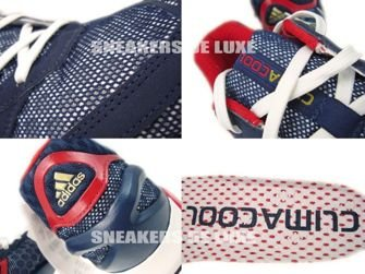 G63742 Adidas CC ClimaCool Collegiate Navy/Light Scarlet Red/Run White