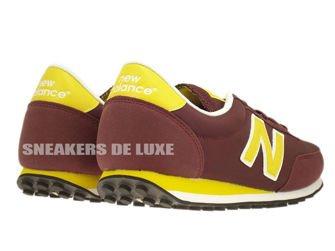 New Balance U410NYB 410 Burgundy / Yellow