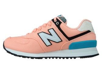 New Balance WL574ASA Bleached Sunrise with Pisces