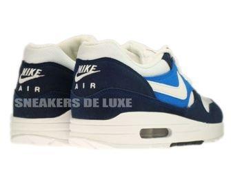 Nike Air Max 1 Midnight Navy/White-Soar-Khaki 308866-407