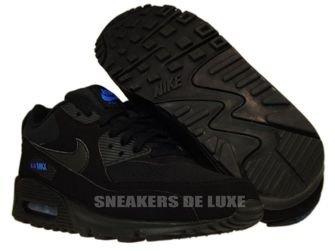 Nike Air Max 90 Black/Black-Blue Spark 309299-906