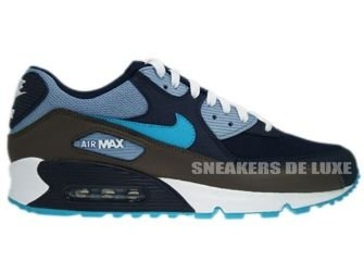Nike Air Max 90 Obsidian/Turquoise Grey White 325018-415