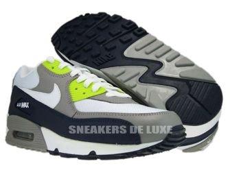 Nike Air Max 90 Obsidian/White-Medium Grey-Volt 325018-406
