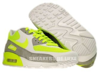 Nike Air Max 90 Premium Volt/Volt-Grey White