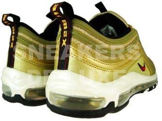 Nike Air Max 97 Metallic Gold/Varsity Red/White/Black 312641-700