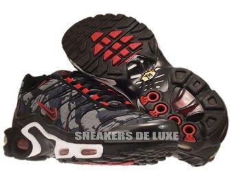 Nike Air Max Plus TN 1 Black/Black-University Red
