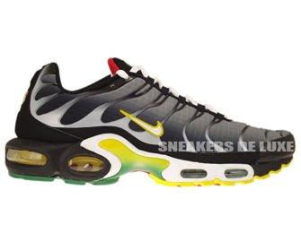 Nike Air Max Plus TN 1 Black/White-Tour Yellow-University Red