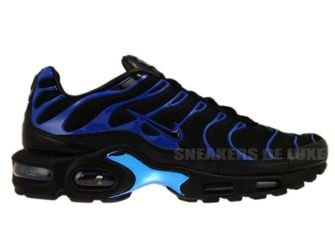 Nike Air Max Plus TN 1 Premium Black/Black-Team Royal 387179-004