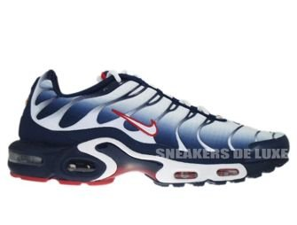 Nike Air Max Plus TN 1 White/University Red-Midnight Navy