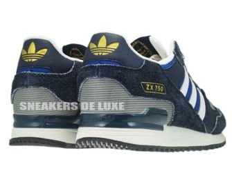 Q23655 Adidas ZX 750 Originals Legend Ink/True Blue/Running White