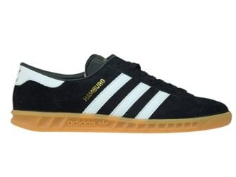 S76696 adidas Hamburg Core Black/Ftwr White/Gum