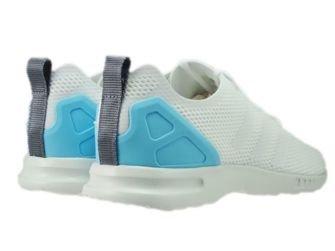 S78965 adidas ZX Flux ADV Smooth Core White/Core White/Blush Blue