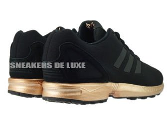 Adidas Zx Flux Core Black Light Copper Kopen
