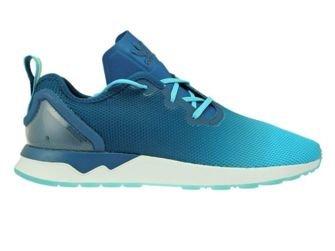 S79056 adidas ZX Flux ADV Asymmetrical Blue Glow/Mineral